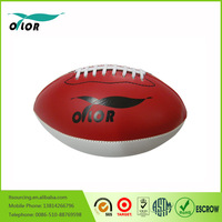 Bulk production pvc leather American football for sale