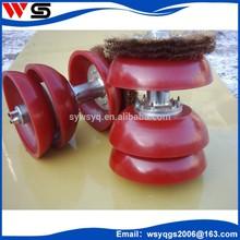 wholesale high building Polyurethane disc pig Wire brush