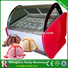Italienne mode de stype utilisé crème glacée vitrine de congélation Zhengzhou fabricant