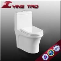 Chaozhou Ceramic Sanitaryware One Piece Toilet white Toilets