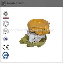 hot sell funny pottery bird feeder