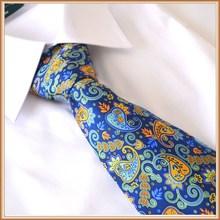 New Paisley Printing Silk Necktie
