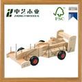 de madera modelo de vehículo camión montaje de bricolaje juguetes coche