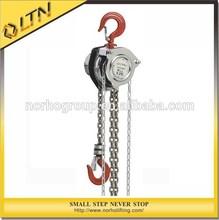 0.25T High Quality Manual Hoist/chain block/stainless steel hoist