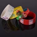 personalizado de silicona banda de la muñeca personalizada pulsera de silicona de caucho de silicona pulsera