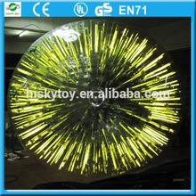 Hot sale Top quality Dia 3m PVC/TPU glowing zorb ball, zorb, zorb ball manufacturer