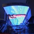 Gigante de techo/de pared led a todo color pantalla de visualización de video xxx