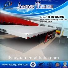 Trailer manufaturer 3 axle 12.5m 20 ft/40ft container skeletal / frame / skeleton truck 20ft container trailer