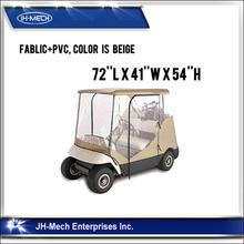 Unique design waterproof club golf cart cover