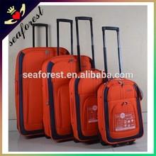 Cheap promotional 4pcs set travel luggage bag,trolley suitcase