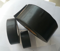 china alibaba Black pipe wrapping protection tape for buried steel pipelines