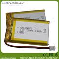 batería lipo 1200 643450p mah batería lipo delgada 1200 shenzhen la batería de litio