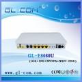 Gepon ftth de triple play de fibra óptica 2 fxs + 4ge voip epon onu router wifi
