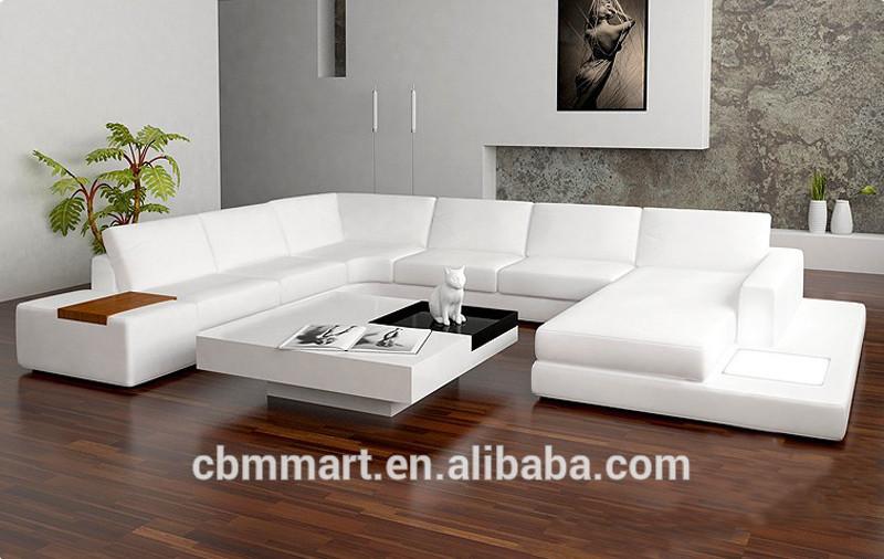 Best Buy White Leather Sofa Modern Design Sofa Furniture
