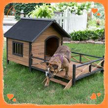 Hot selling solid wooden dog kennel building designs