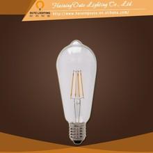 China supplier old fashioned led filament bulb led bulb price list