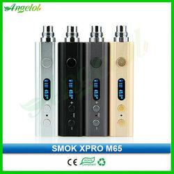 high watts 65w colored smoke vaporizers xpro m65 box mod