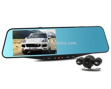 2015 SIV Novatek 96655 5.0inch screen full hd 1080p dual lens best hidden cameras for cars