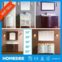 Homedee American Style Solid Wood Vanities,Bathroom Cabinet