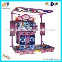 2015 New arrival simulator touch screen arcade dancing game machine