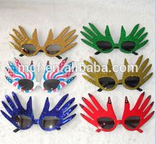 Carnival festival palm crazy party funny safety eye glasses frame PG-0028