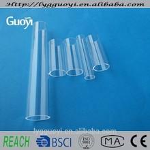 high quality outer diameter 19mm transparent quartz glass tube
