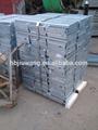 Iso9001ท่อระบายน้ำเหล็กตะแกรง- 19ftx3.5ftตะแกรงเหล็กชุบสังกะสี