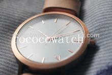 New Fashion New York Design genuine Leather GENEVA Watch For unisex japan mvmt Quartz Watches