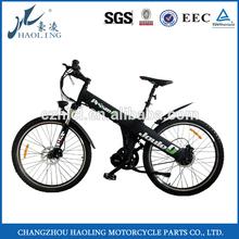 Flash ,green power electric motor road bike
