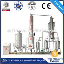 Energy saving multi-function waste oil distillation equipment( Black oil to yellow)