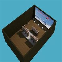 2015 newest 5d theater 7d 8d cinema equipment dynamic simulator cinema