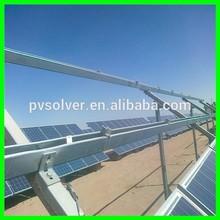 Aluminum standard solar mount, Aluminium Alloy Frame Solar Mounting, Aluminium Alloy Solar Ground Mounting