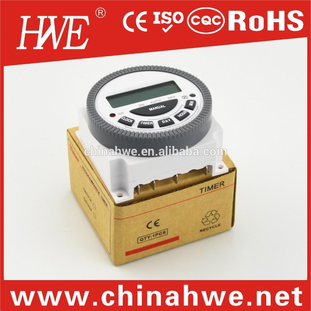 Tm-619h lcd-display digitale zeitschaltuhr/12V 24v dc zeitschaltuhr/mechanische timer