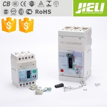 jieli manufacturer high quality molded case circuit breaker mccb