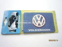 Custom car logo shape paper air freshener,for sale car logo paper fresheners