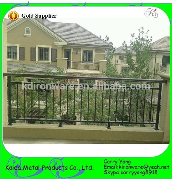 villa house design elegant wrought iron balcony railings