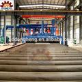 China tubo de granallado máquinas/de tubos de acero de limpieza a cabo y en equipos de chorro/línea de producción
