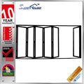productos de porcelana de resistencia al fuego de vidrio de aluminio moderno puerta de la casa