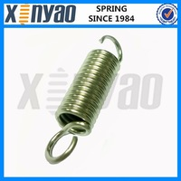 steel extension spring with hooks for tool