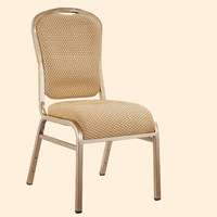 Youkexuan iron steel banquet chair HC-1223