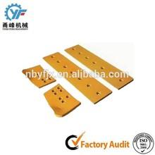 Heat treated manganese steel motor grader blades machine cuttings