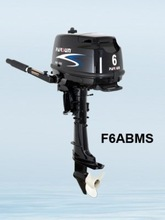 4-stroke 6hp outboard motor / manual start / short shaft / F6ABMS