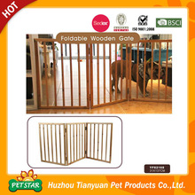 High Quality Wooden Folding Pet Gates