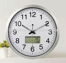 Big digital wall clock, aluminum wall clock