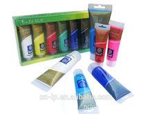 Memory 60ml/75ml/120ml paint bulk paint plastic tube best selling art paint set artist quality acrylic paint with plastic tube
