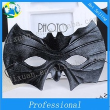 Black PVC venice mask The bat masquerade mask preferential wholesale