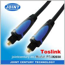 Hot Sales utp brand new audio fiber optic cable, 6.5ft digital audio optical fiber cable, fiber optic toslink audio cable