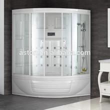 Deluxe Acrylic massage wet double steam shower bath