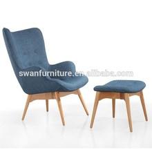 LeisureMod Modern grant featherston Style chair Set