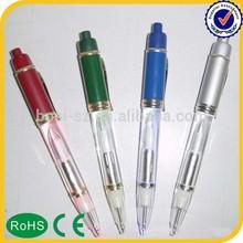 customized logo led pen, led light bulb pen